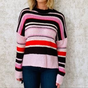 Something Navy Striped Sweater